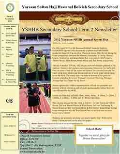 2012 Newsletter (Term 2)